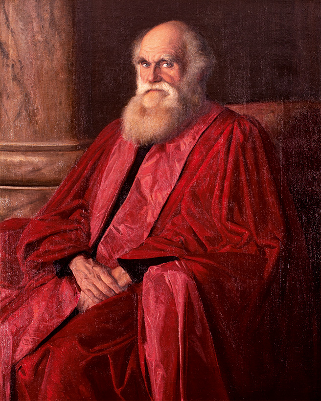 Charles Robert Darwin (1879) by William Blake Richmond