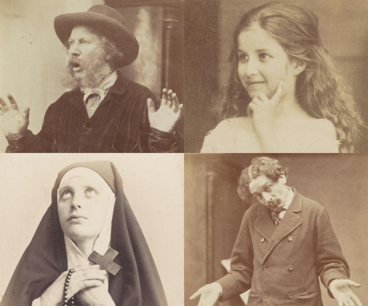 Darwin and human nature - Expression photos