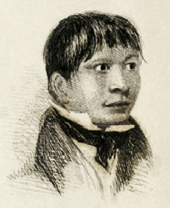 Jemmy Button in 1833